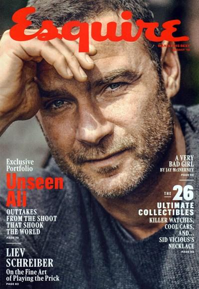 Esquire Cover - 8/1/2016