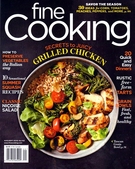 Fine Cooking Cover - 8/1/2016