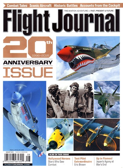 Flight Journal Cover - 8/1/2016