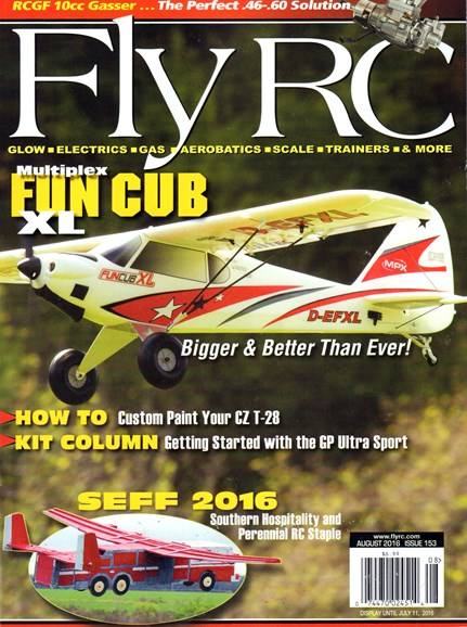 Fly RC Cover - 8/1/2016