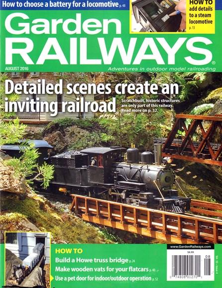 Garden Railways Cover - 8/1/2016
