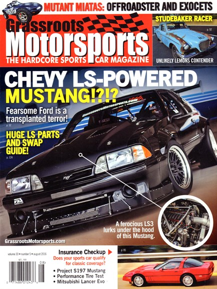Grassroots Motorsports Cover - 8/1/2016