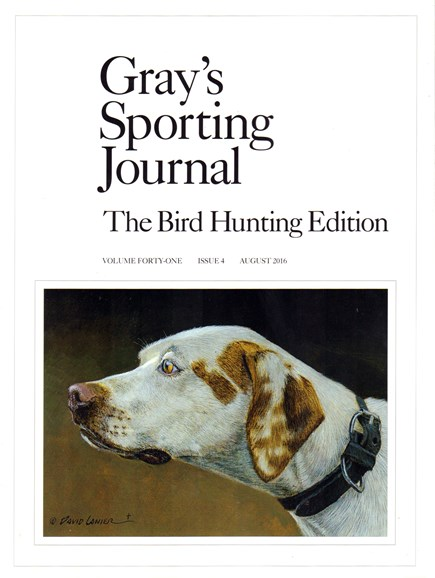 Gray's Sporting Journal Cover - 8/1/2016