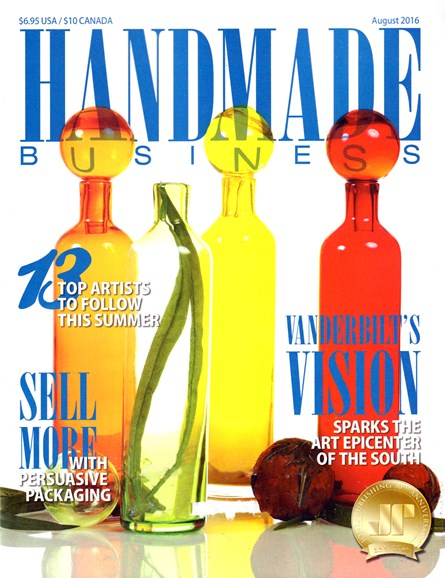 Handmade Business Cover - 8/1/2016