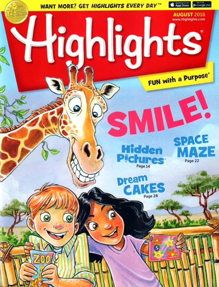 Highlights Cover - 8/1/2016