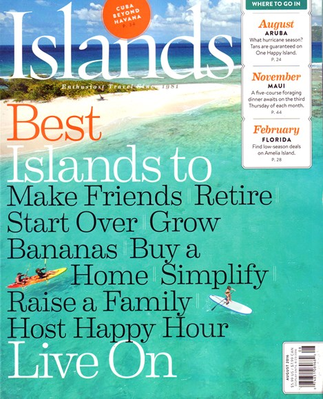 Islands Cover - 8/1/2016