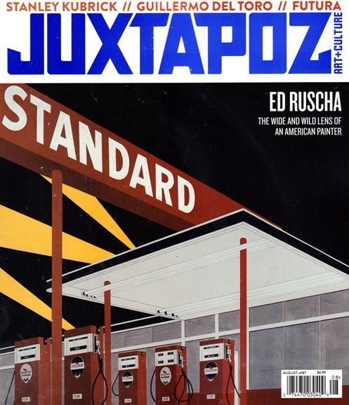 Juxtapoz Cover - 8/1/2016