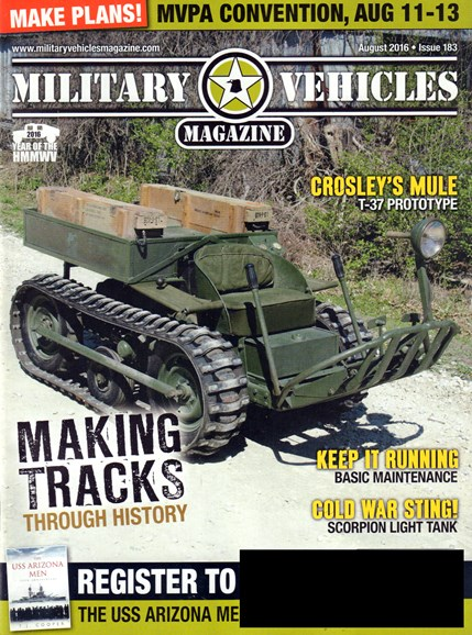Military Vehicles Cover - 8/1/2016