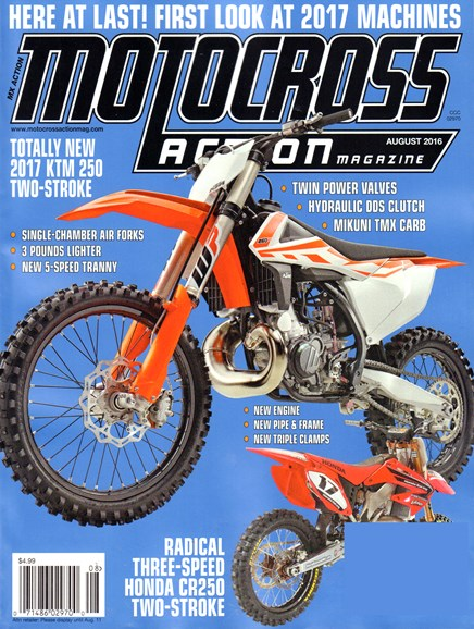 Motocross Action Cover - 8/1/2016