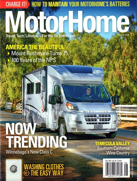 MotorHome Cover - 8/1/2016