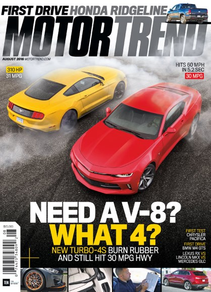 Motor Trend Cover - 8/1/2016