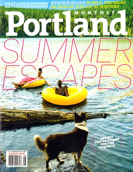 Portland Monthly Cover - 8/1/2016