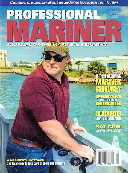 Professional Mariner Cover - 8/1/2016