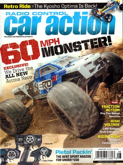 Radio Control Car Action Cover - 8/1/2016