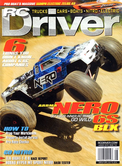 RC Driver Cover - 8/1/2016