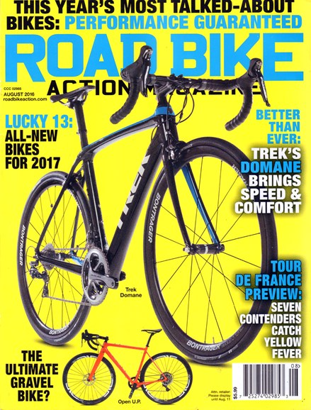 Road Bike Action Cover - 8/1/2016