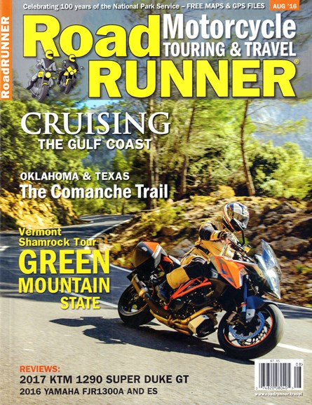 Road RUNNER Motorcycle & Touring Cover - 8/1/2016