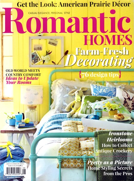 Romantic Homes Cover - 8/1/2016
