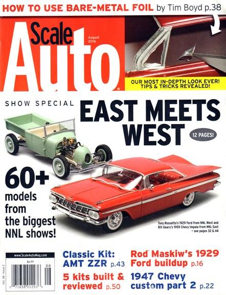 Scale Auto Magazine Cover - 8/1/2016