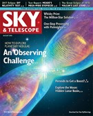 Sky & Telescope Magazine 8/1/2016