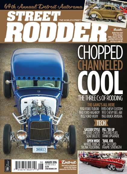 Street Rodder Cover - 8/1/2016