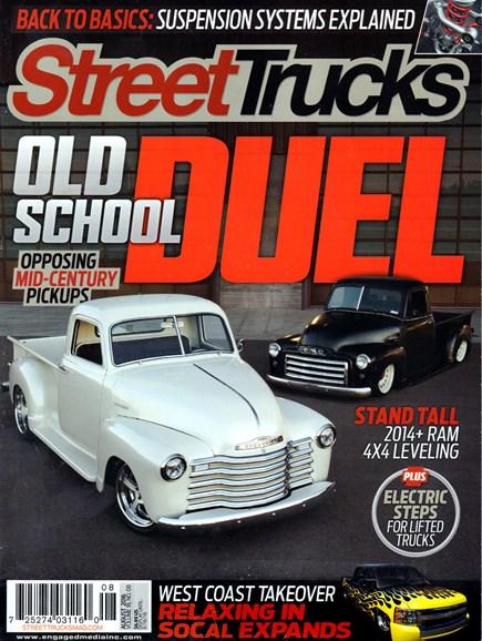 Street Trucks Cover - 8/1/2016