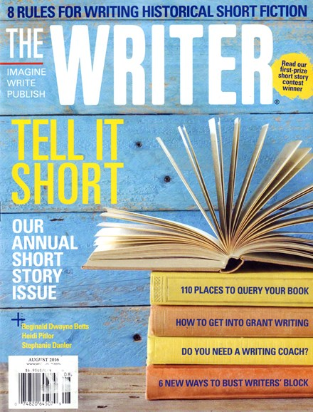 The Writer Cover - 8/1/2016