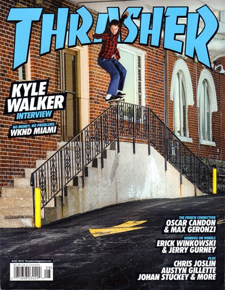 Thrasher Cover - 8/1/2016