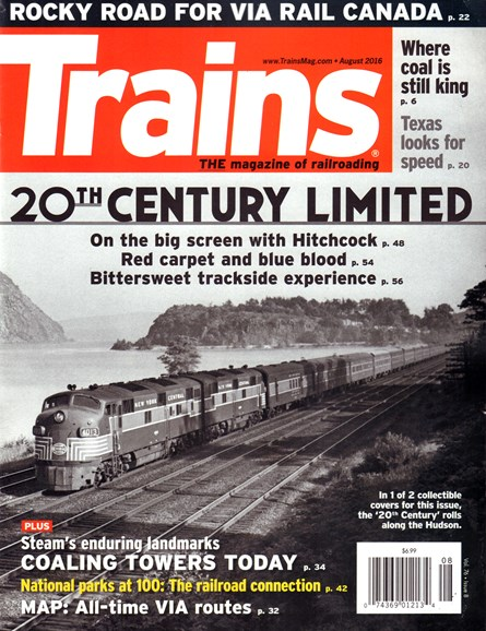Trains Cover - 8/1/2016