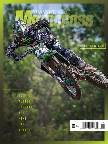 Transworld Motocross Cover - 8/1/2016