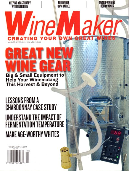 Winemaker Cover - 8/1/2016