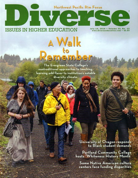 Diverse: Issues In Higher Education Cover - 7/14/2016