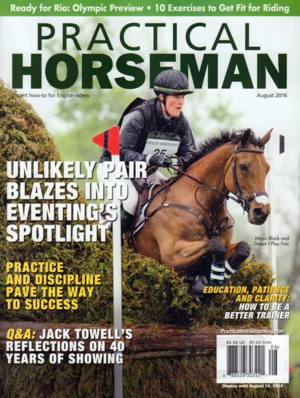 Practical Horseman Cover - 8/1/2016