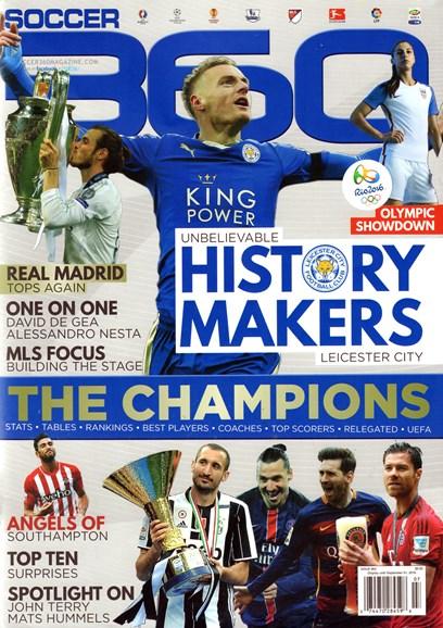 Soccer 360 Cover - 7/1/2016