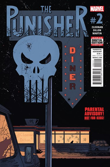 The Punisher Cover - 8/1/2016