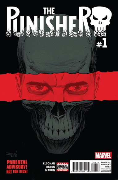 The Punisher Cover - 7/1/2016