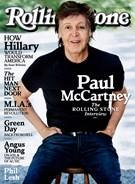 Rolling Stone Magazine 8/25/2016