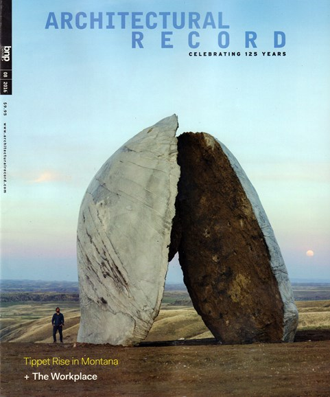 Architectural Record Cover - 8/1/2016