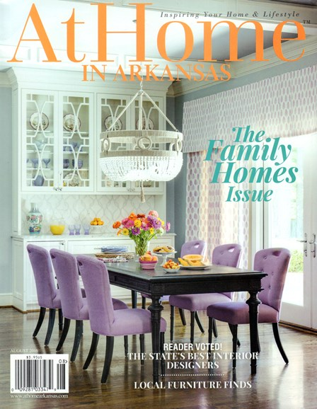 At Home In Arkansas Cover - 8/1/2016