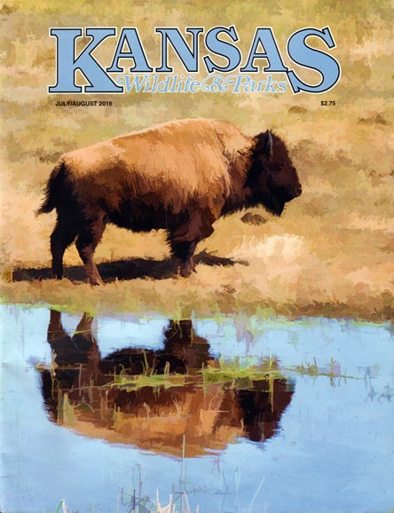 Kansas Wildlife & Parks Cover - 7/1/2016