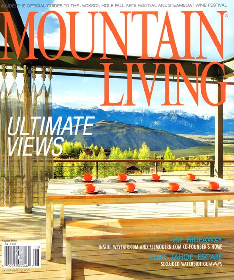 Mountain Living Cover - 8/1/2016