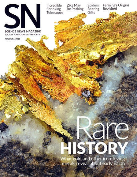 Science News Cover - 8/6/2016