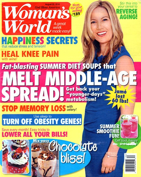Woman's World Cover - 8/22/2016