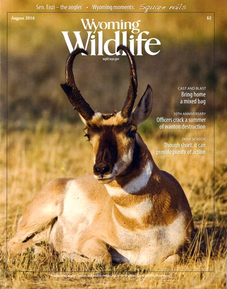 Wyoming Wildlife Cover - 8/1/2016
