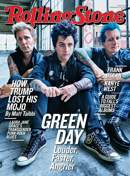 Rolling Stone Cover - 9/22/2016