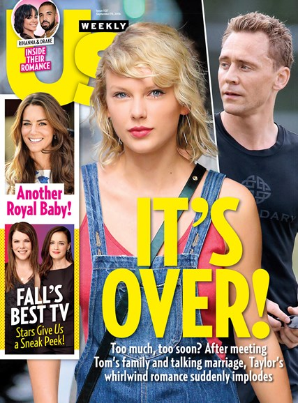 Us Weekly Cover - 9/19/2016