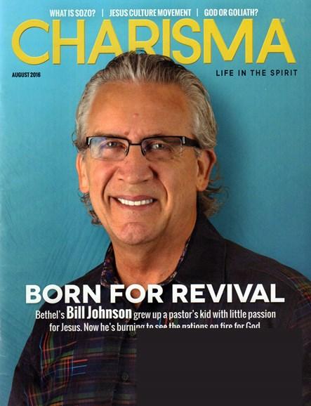 Charisma Cover - 8/1/2016