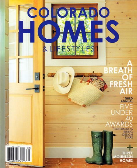 Colorado Homes & Lifestyles Cover - 8/1/2016