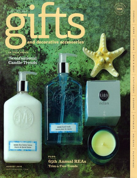Gifts And Decorative Accessories Cover - 8/1/2016
