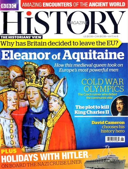 BBC History Cover - 8/1/2016